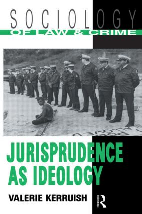Jurisprudence as Ideology: 1st Edition (Paperback) book cover