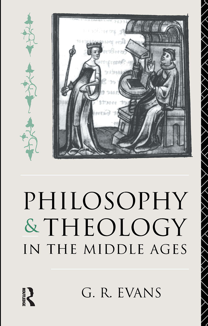 Philosophy and Theology in the Middle Ages: 1st Edition (Paperback) book cover