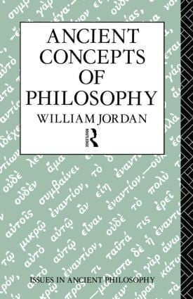 Ancient Concepts of Philosophy (Paperback) book cover