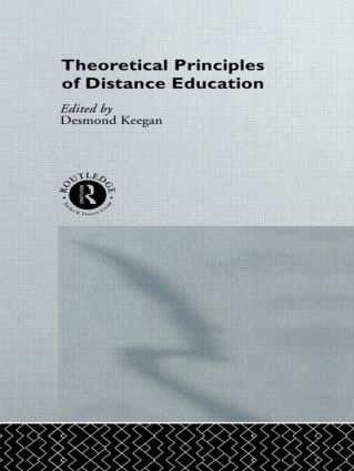 Theoretical Principles of Distance Education book cover