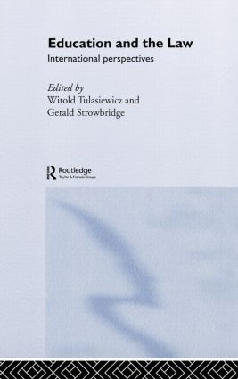 Education and the Law: International Perspectives, 1st Edition (Hardback) book cover