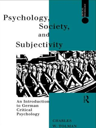 Psychology, Society and Subjectivity