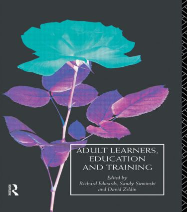 Adult Learners, Education and Training: 1st Edition (Paperback) book cover