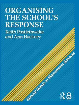 Organising a School's Response: 1st Edition (Paperback) book cover