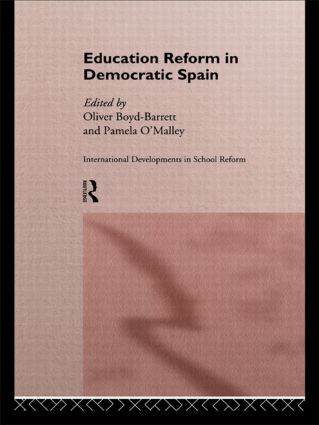 Education Reform in Contemporary Spain: 1st Edition (Hardback) book cover