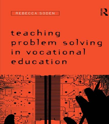 Teaching Problem Solving in Vocational Education (e-Book) book cover