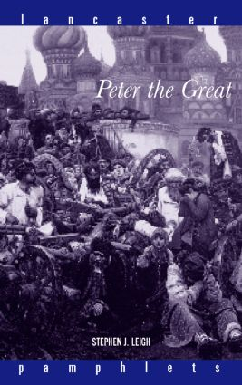 Peter the Great (Paperback) book cover