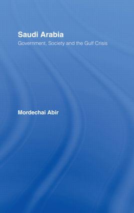 Saudi Arabia: Society, Government and the Gulf Crisis, 1st Edition (Hardback) book cover