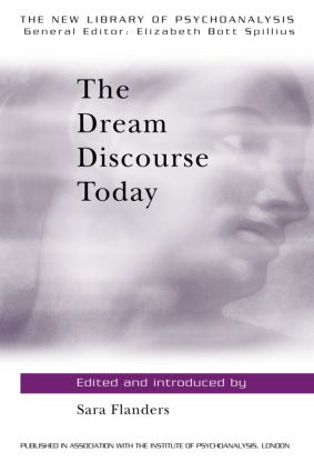 The Dream Discourse Today: 1st Edition (Paperback) book cover