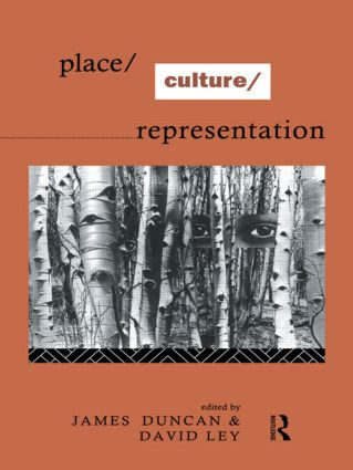 Place/Culture/Representation: 1st Edition (Paperback) book cover