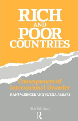 Rich and Poor Countries: Consequence of International Economic Disorder, 4th Edition (Paperback) book cover