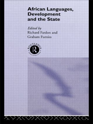 African Languages, Development and the State: 1st Edition (Hardback) book cover