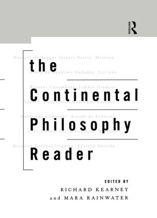 The Continental Philosophy Reader: 1st Edition (Paperback) book cover