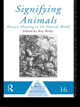 Signifying Animals: 1st Edition (Paperback) book cover