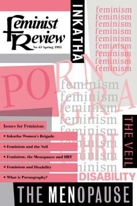 Feminist Review: Issue 43: Issues for Feminism, 1st Edition (Paperback) book cover
