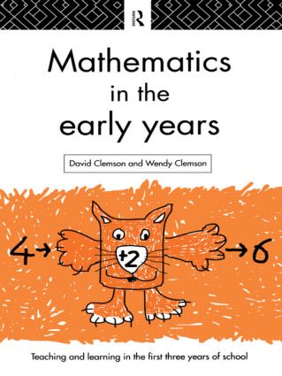 Mathematics in the Early Years: 1st Edition (Paperback) book cover