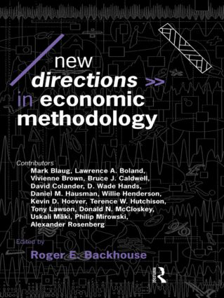 New Directions in Economic Methodology: 1st Edition (Paperback) book cover