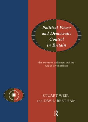 Political Power and Democratic Control in Britain: 1st Edition (Paperback) book cover