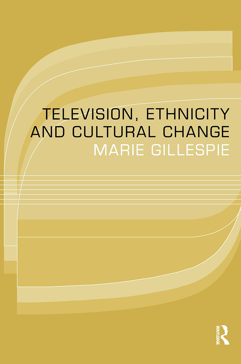 Television, Ethnicity and Cultural Change: 1st Edition (Paperback) book cover