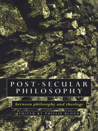 Post-Secular Philosophy