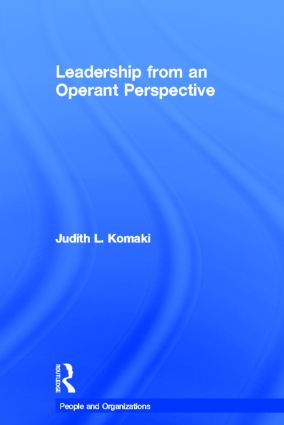 Leadership from an Operant Perspective book cover