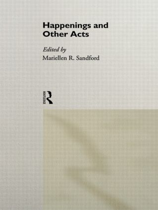 Happenings and Other Acts book cover