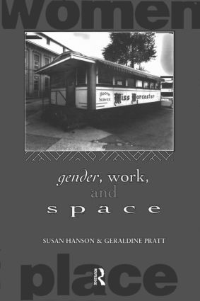 Gender, Work and Space (Paperback) book cover
