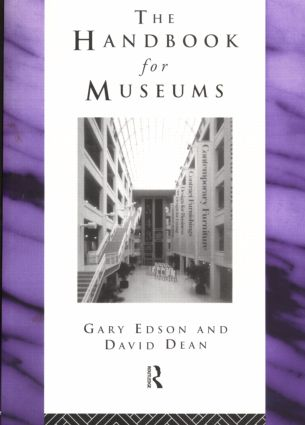 Handbook for Museums: 1st Edition (Paperback) book cover