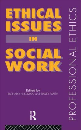 Ethical Issues in Social Work (Paperback) book cover
