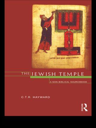 The Jewish Temple: A Non-Biblical Sourcebook book cover