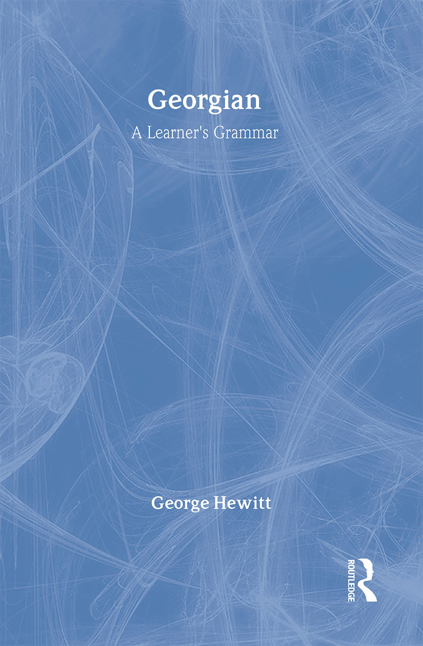 Georgian: A Learner's Grammar