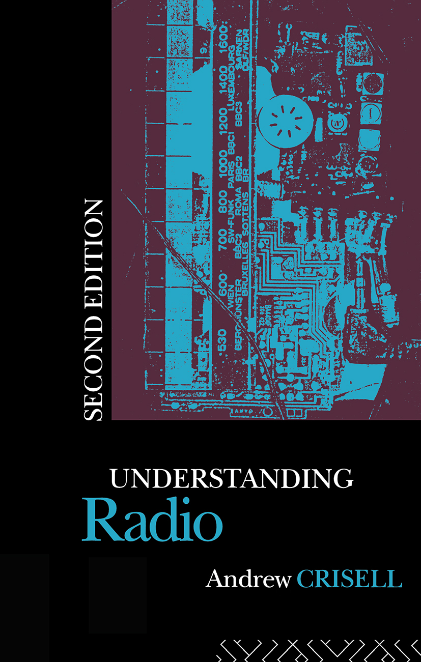 Understanding Radio: 2nd Edition (e-Book) book cover