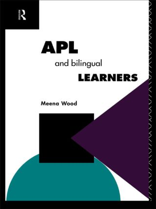 APL and the Bilingual Learner: 1st Edition (Paperback) book cover