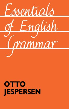 Essentials of English Grammar: 25th impression, 1987, 1st Edition (Paperback) book cover