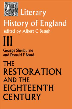 The Literary History of England