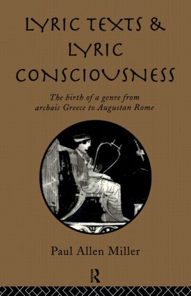 Lyric Texts & Consciousness: 1st Edition (Paperback) book cover