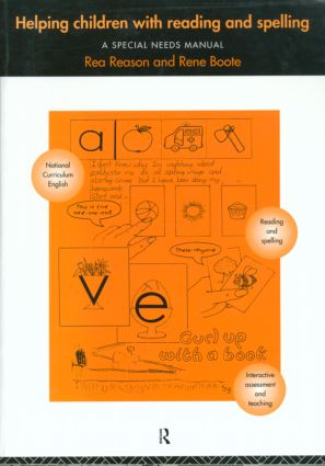 Helping Children with Reading and Spelling (Paperback) book cover