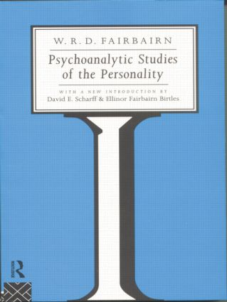 Psychoanalytic Studies of the Personality (Paperback) book cover