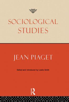 Sociological Studies (Hardback) book cover