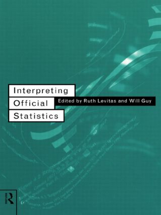 Interpreting Official Statistics: 1st Edition (Paperback) book cover