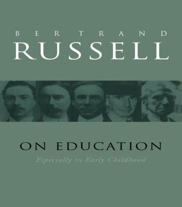 On Education: 1st Edition (Paperback) book cover