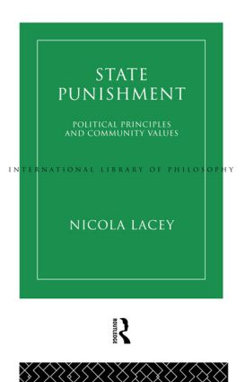 State Punishment: 1st Edition (Paperback) book cover