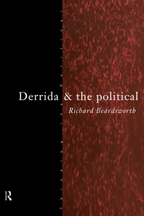 Derrida and the Political (Paperback) book cover