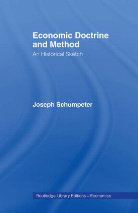 Economic Doctrine and Method: 1st Edition (Paperback) book cover