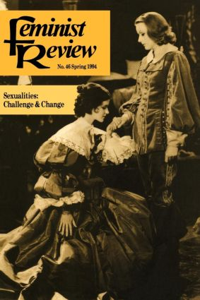 Feminist Review: Issue 46 book cover