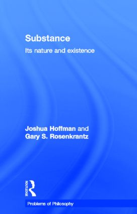 Substance: Its Nature and Existence book cover