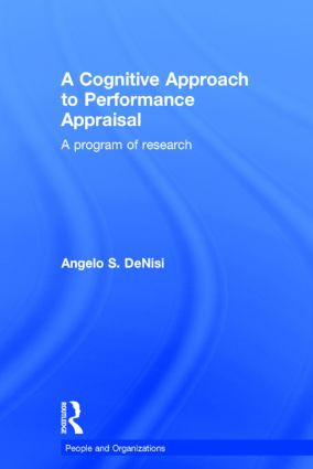 A Cognitive Approach to Performance Appraisal (Hardback) book cover