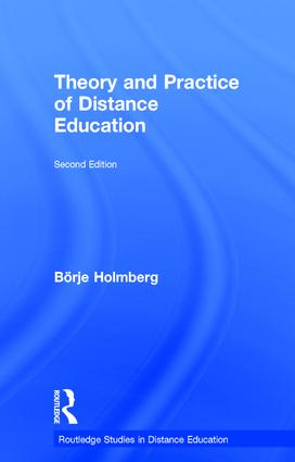 Theory and Practice of Distance Education book cover