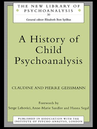 A History of Child Psychoanalysis (Paperback) book cover