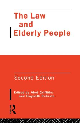 The Law and Elderly People book cover